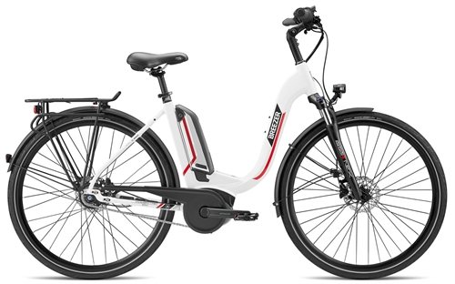 Bicycle Breezer POWERTRIP 1.1 IG+ LS 52cm 2020 White/Red